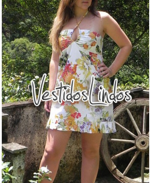Moda feminina - Vestido TQC Frente nica